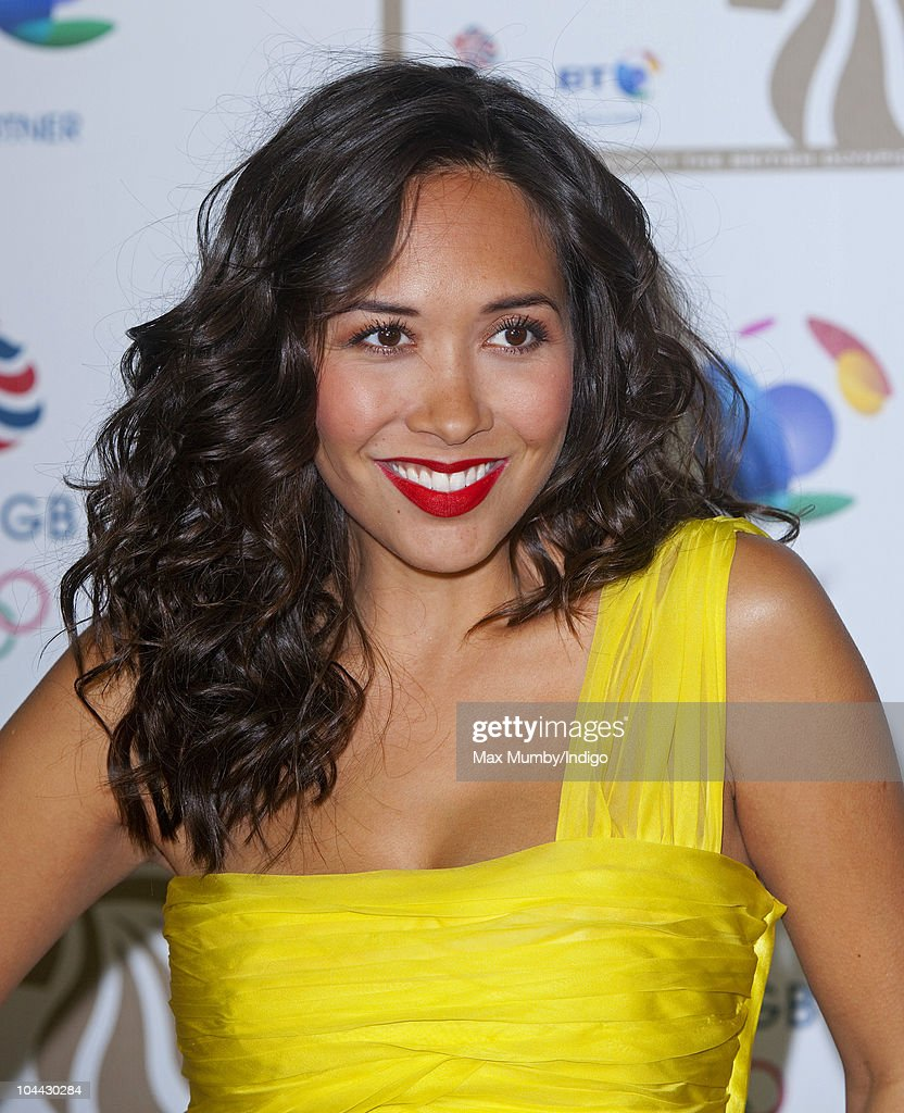 Myleene Klass attends the British Olympic Ball at the Grosvenor House Hotel on September 24, 2010 in London, England.