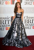 Myleene Klass attends the Classic Brit Awards 2012 at Royal Albert Hall on October 2 2012 in London United Kingdom