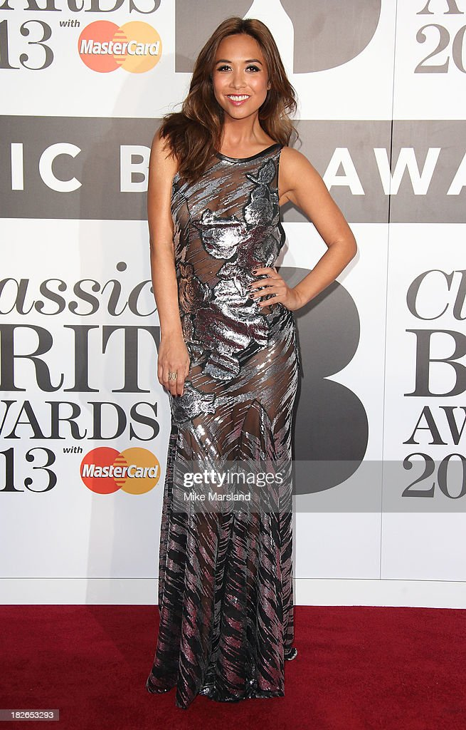<a gi-track='captionPersonalityLinkClicked' href=/galleries/search?phrase=Myleene+Klass&family=editorial&specificpeople=201597 ng-click='$event.stopPropagation()'>Myleene Klass</a> attends the Classic BRIT Awards 2013 at Royal Albert Hall on October 2, 2013 in London, England.