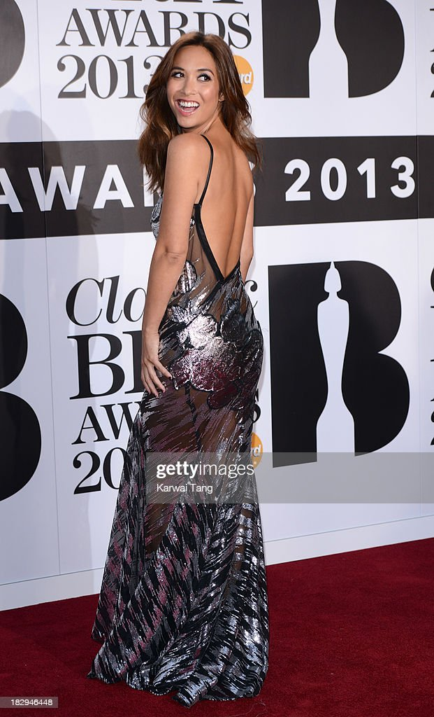 Myleene Klass attends the Classic BRIT Awards 2013 at Royal Albert Hall on October 2, 2013 in London, England.