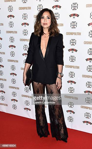 Myleene Klass attends the Cosmopolitan Ultimate Women Of The Year Awards at One Mayfair on December 2 2015 in London England