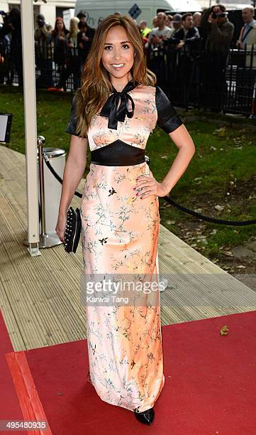 Myleene Klass attends the Glamour Women of the Year Awards at Berkeley Square Gardens on June 3 2014 in London England