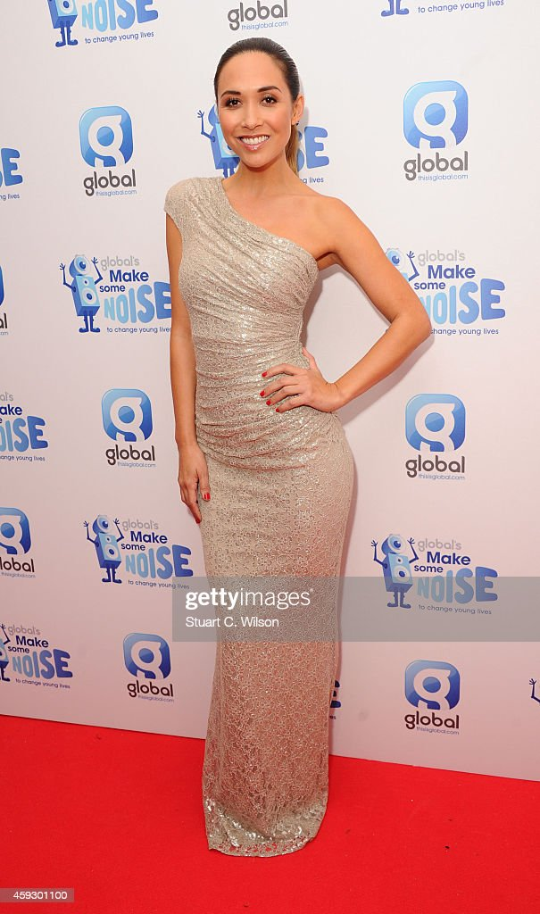 <a gi-track='captionPersonalityLinkClicked' href=/galleries/search?phrase=Myleene+Klass&family=editorial&specificpeople=201597 ng-click='$event.stopPropagation()'>Myleene Klass</a> attends the Global Make Some Noise event at Supernova on November 20, 2014 in London, England.