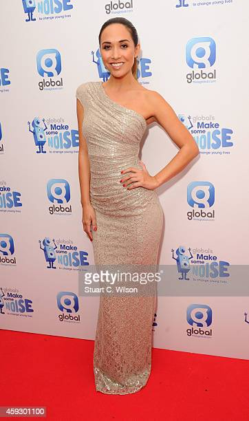 Myleene Klass attends the Global Make Some Noise event at Supernova on November 20 2014 in London England