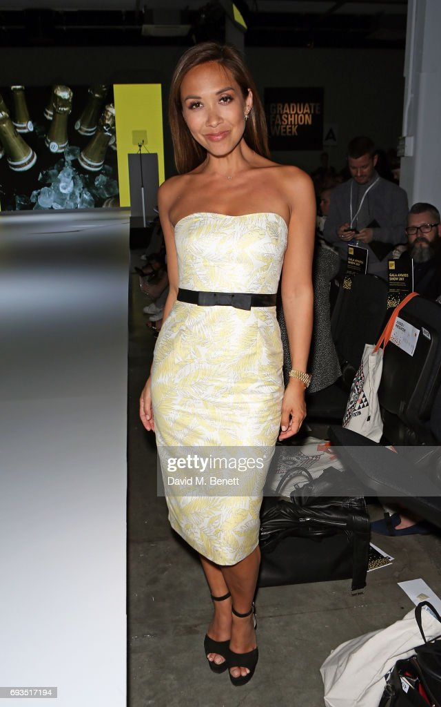 Myleene Klass attends the Graduate Fashion Week Gala 2017 at The Old Truman Brewery on June 7, 2017 in London, England.