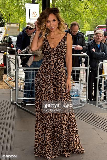 Myleene Klass attends the Ivor Novello Awards at Grosvenor House on May 19 2016 in London England