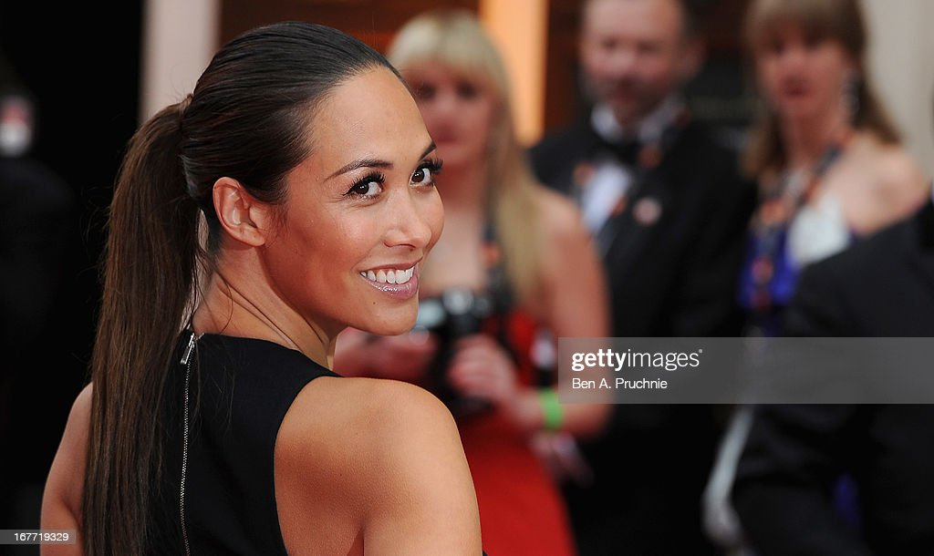 Myleene Klass attends The Laurence Olivier Awards at the Royal Opera House on April 28, 2013 in London, England.