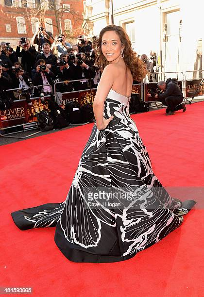 Myleene Klass attends the Laurence Olivier Awards at the Royal Opera House on April 13 2014 in London England