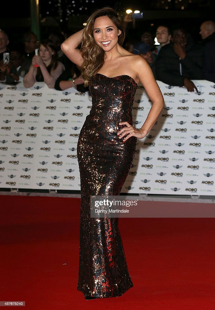 <a gi-track='captionPersonalityLinkClicked' href=/galleries/search?phrase=Myleene+Klass&family=editorial&specificpeople=201597 ng-click='$event.stopPropagation()'>Myleene Klass</a> attends the MOBO Awards at SSE Arena on October 22, 2014 in London, England.