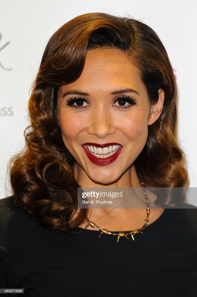 <a gi-track='captionPersonalityLinkClicked' href=/galleries/search?phrase=Myleene+Klass&family=editorial&specificpeople=201597 ng-click='$event.stopPropagation()'>Myleene Klass</a> attends the Mothercare VIP Christmas party at the newly refurbished Oxford Street Store at Mothercare Oxford Street on November 28, 2013 in London, England.