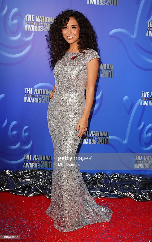 Myleene Klass attends The National Lottery Awards 2011 celebrating the UK's best Lotteryfunded projects at The London Studios on November 5 2011 in...