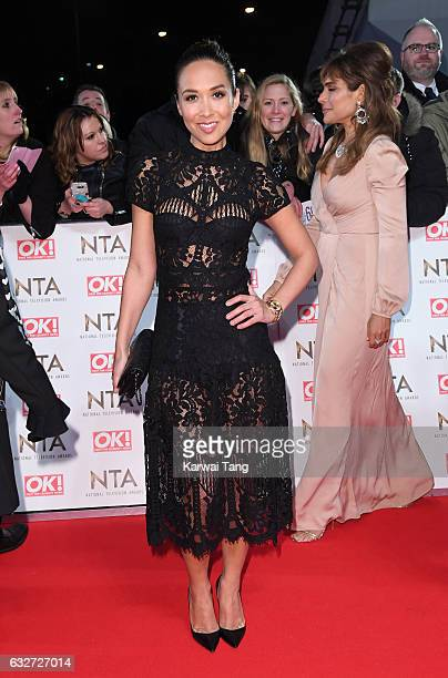 Myleene Klass attends the National Television Awards at The O2 Arena on January 25 2017 in London England