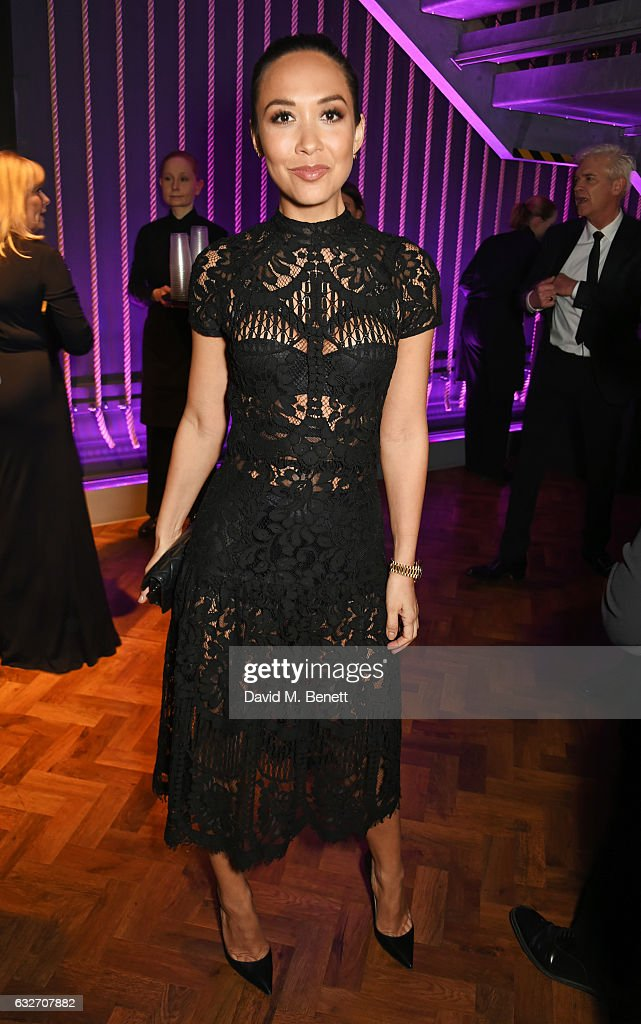 Myleene Klass attends the National Television Awards cocktail reception at The O2 Arena on January 25, 2017 in London, England.