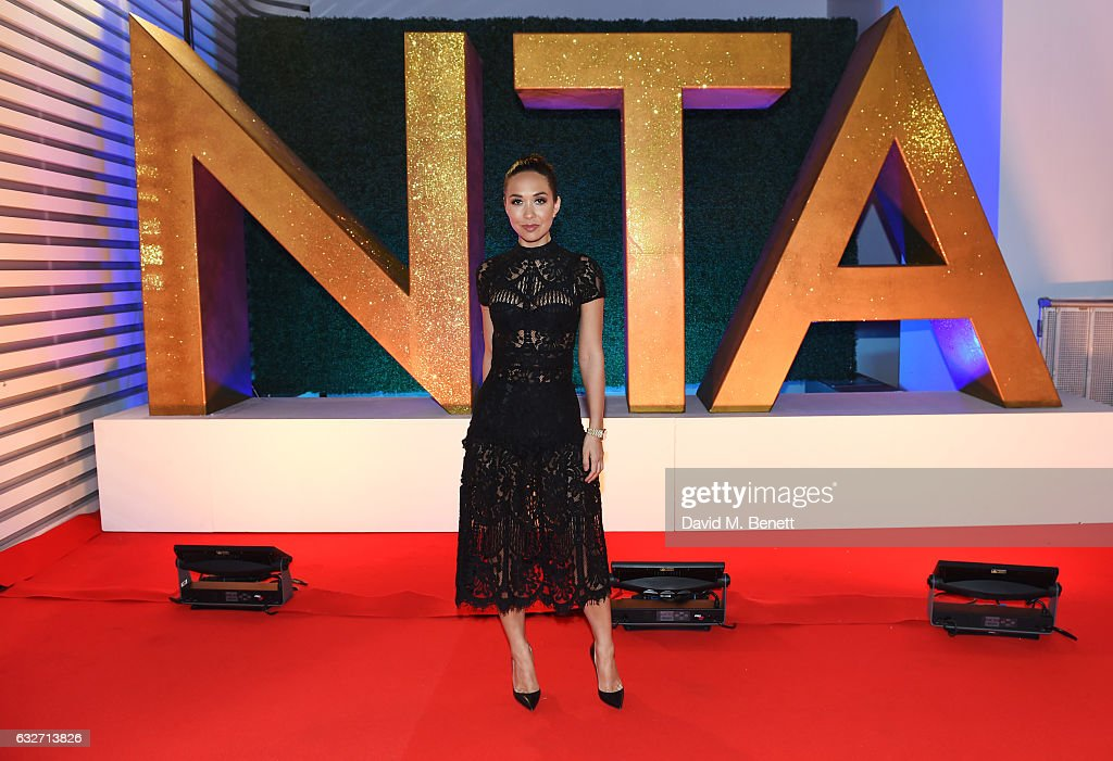 Myleene Klass attends the National Television Awards on January 25, 2017 in London, United Kingdom.