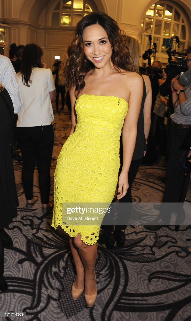 Myleene Klass attends the Nordoff Robbins O2 Silver Clef Awards at the London Hilton on June 28, 2013 in London, England.