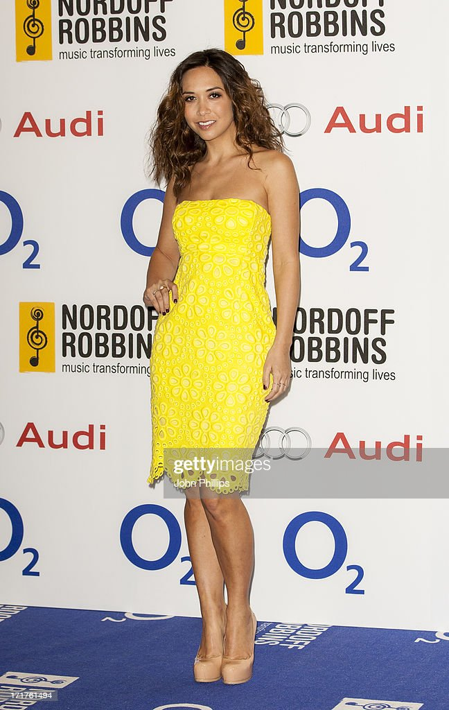 Myleene Klass attends the Nordoff Robbins Silver Clef awards at London Hilton on June 28, 2013 in London, England.