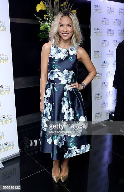 Myleene Klass attends the St John Ambulance's Everyday Heroes awards a starstudded celebration of the nation's life savers at the Grange St PaulÕs...