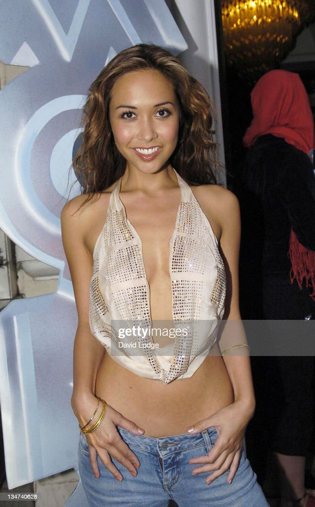 <a gi-track='captionPersonalityLinkClicked' href=/galleries/search?phrase=Myleene+Klass&family=editorial&specificpeople=201597 ng-click='$event.stopPropagation()'>Myleene Klass</a> during MOBO Awards 2005 - Press Launch at Sway in London, Great Britain.