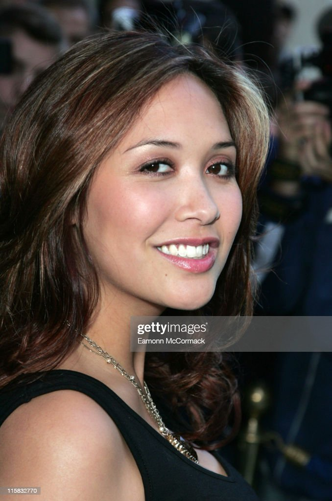 Myleene Klass during The Perfume Shop/LK High Street Fashion Awards - Outside Arrivals at Cafe de Paris in London, Great Britain.