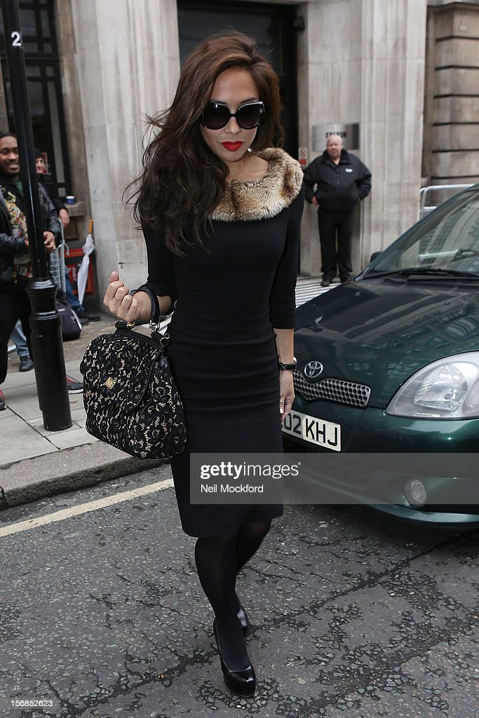 <a gi-track='captionPersonalityLinkClicked' href=/galleries/search?phrase=Myleene+Klass&family=editorial&specificpeople=201597 ng-click='$event.stopPropagation()'>Myleene Klass</a> seen at BBC Radio 2 on November 23, 2012 in London, England.