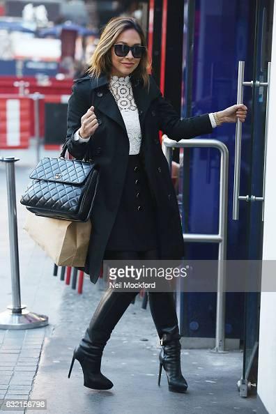 Myleene Klass seen at Smooth Radio Studios on January 20 2017 in London England