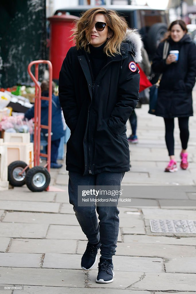 <a gi-track='captionPersonalityLinkClicked' href=/galleries/search?phrase=Myleene+Klass&family=editorial&specificpeople=201597 ng-click='$event.stopPropagation()'>Myleene Klass</a> seen in Highgate February 9, 2016 in London, England.