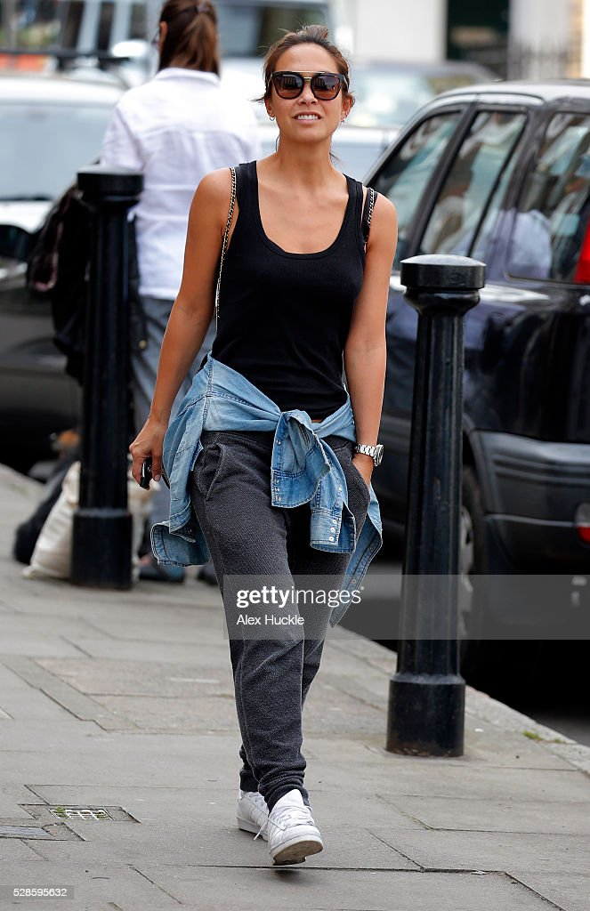 <a gi-track='captionPersonalityLinkClicked' href=/galleries/search?phrase=Myleene+Klass&family=editorial&specificpeople=201597 ng-click='$event.stopPropagation()'>Myleene Klass</a> seen in Highgate on May 6, 2016 in London, England.
