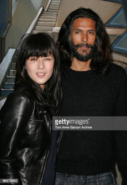 Mylene Jampanoi and her husband Milind Soman