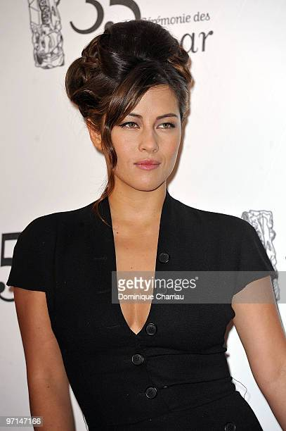 Mylene Jampanoi attends the 35th Cesar Film Awards at Theatre du Chatelet on February 27 2010 in Paris France