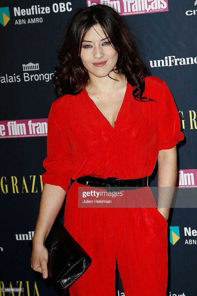 Mylene Jampanoi attends the 'Trophees Du Film Francais' 20th Ceremony at Palais Brongniart on February 5, 2013 in Paris, France.