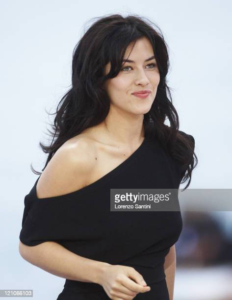 Mylene Jampanoi sighting at the 61st Cannes International Film Festival on May 23 2008 in Cannes France
