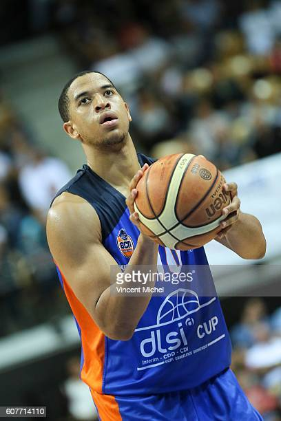 Myles Hesson of Gravelines during the Final match between Strasbourg and Gravelines Dunkerque at Tournament ProStars at Salle Arena Loire on...