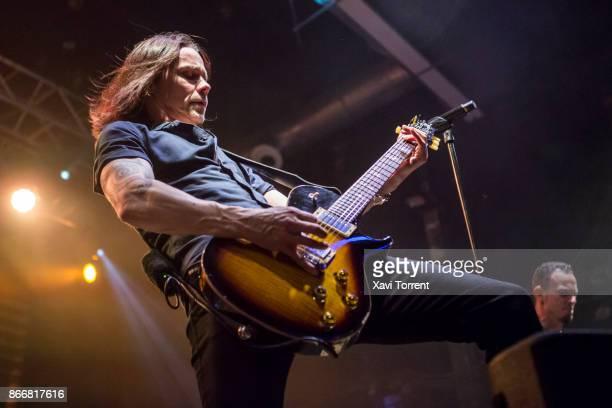 Myles Kennedy of Alter Bridge performs in concert at Razzmatazz on October 26 2017 in Barcelona Spain