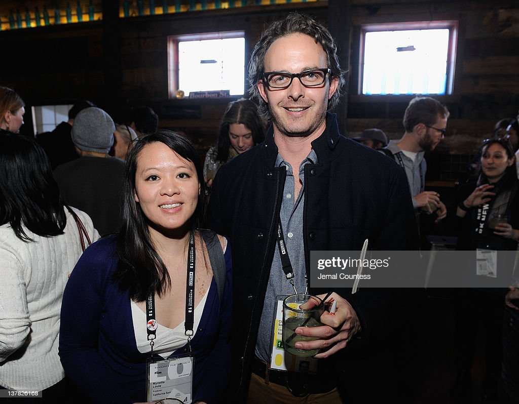Mynette Louie and Clay Smith attend the Alfred P. Sloan Foundation Reception & Prize Announcement during the 2012 Sundance Film Festival on January 27, 2012 in Park City, Utah.