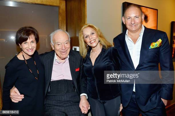 Myra Biblowit Leonard A Lauder Susan Silver and John Demsey attend the Opening Reception for Judy Glickman Lauder Upon Reflection at Howard Greenberg...