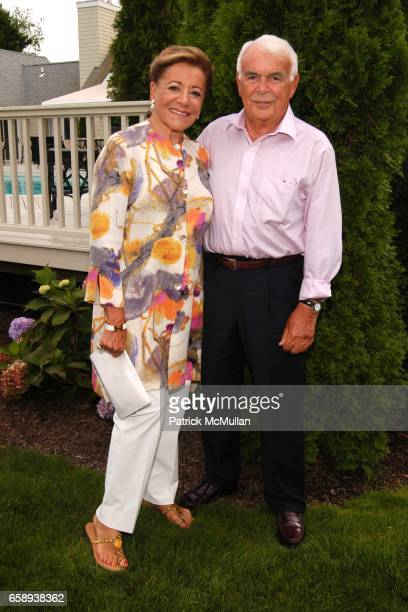 Myra Daniels and John Daniels attend PULSE OF THE CITY GALA Comes To The Hamptons Hosted by the CARDIOVASCULAR RESEARCH FOUNDATION at Private...