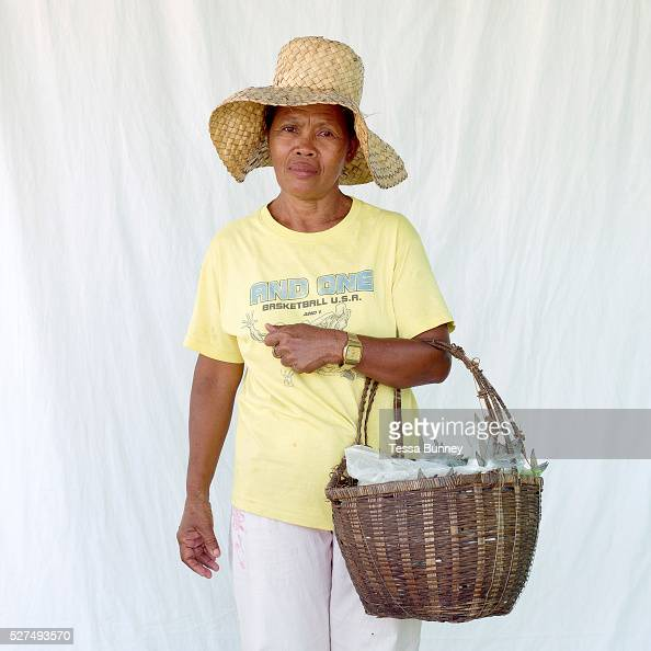 Myrna Layaog fish saleswoman Pooc Bantayan Island The Philippines Every morning at 7 am fisherwomen meet fishermen as they return from the sea with...