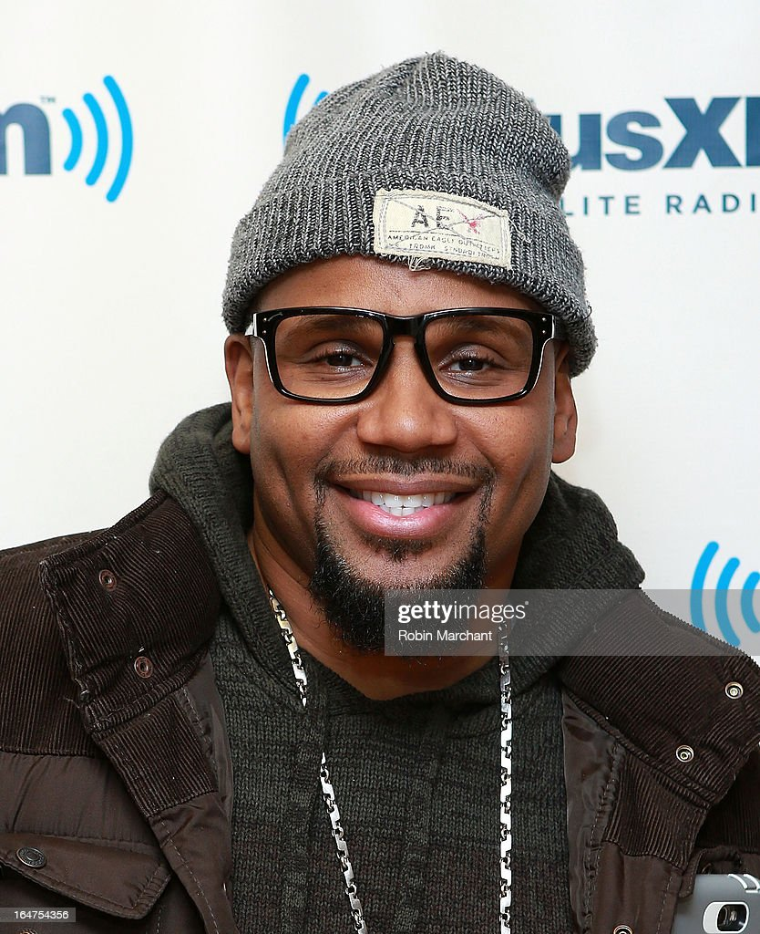 Myron Avant visits at SiriusXM Studios on March 27, 2013 in New York City.