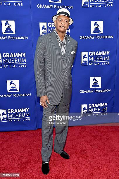 Myron Johnson at Icon The Life And Legacy Of BB King a live tribute concert presented by the GRAMMY Foundation and GRAMMY Museum and sponsored in...