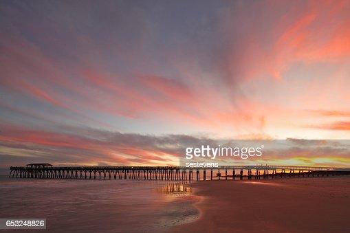 Myrtle Beach Fishing Pier : Stock-Foto
