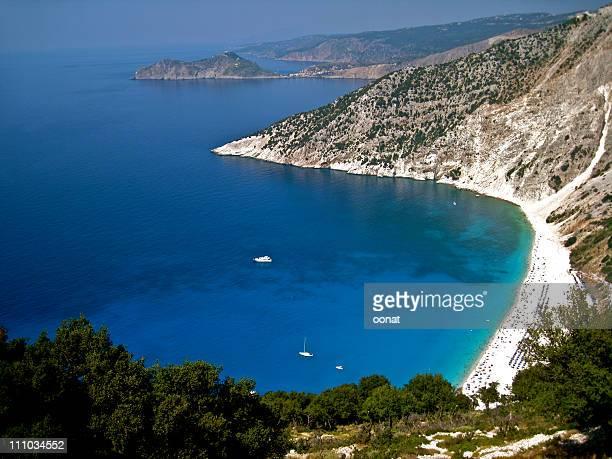 Myrtos Bay, Kefalonia, Greece
