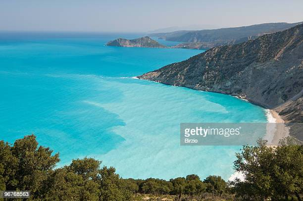 Myrtos Beach in Kefalonia (Cephalonia)