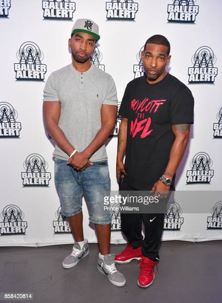 Mysonne and Chi Ali attend Baller Alert's Bowl With a Baller at Basement Bowl on October 5 2017 in Miami Florida