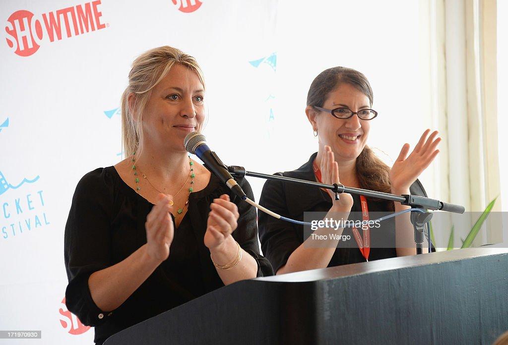 Mystelle Brabbee and Daniela Bajar attend The 18th Annual Nantucket Film Festival on June 29, 2013 in Nantucket, Massachusetts.