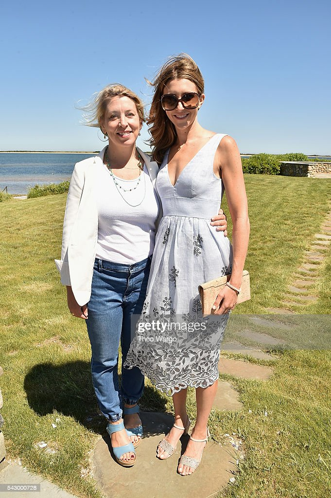 Mystelle Brabbee and Sarah Megan Thomas attend the Mentors Brunch during the 2016 Nantucket Film Festival Day 4 on June 25, 2016 in Nantucket, Massachusetts.