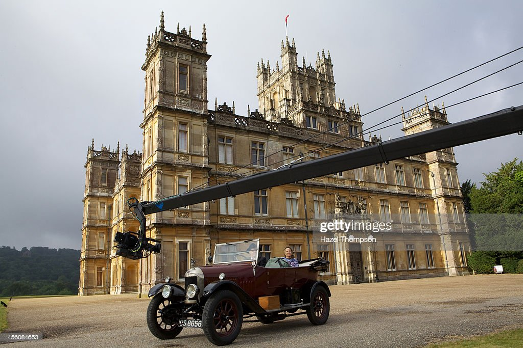 Beyond Downton Abbey' is a behind-the-butler look at the Downton Abbey world from inside the real-life English castle that inspired the cult series. A nchored by Amy Robach, 'Mysteries of the Castle: Beyond Downton Abbey,' a Special Edition of 20/20,airs on THURSDAY, DEC. 26 (9-11pm., ET) on the ABC Television Network. (Photo by Hazel Thompson/ABC via Getty Images) AMY ROBACH