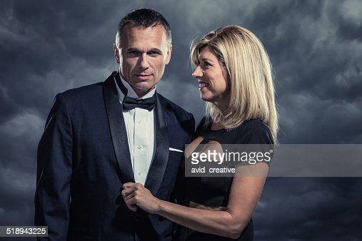 Mysterious Affluent Couple