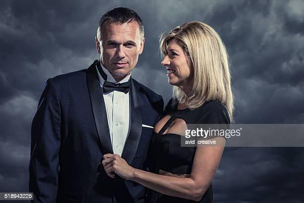 Geheimnisvolle wohlhabenden Paar