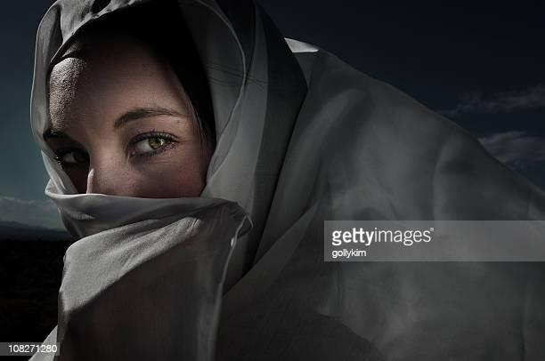 Mysterious Arabian Woman