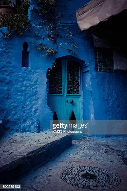 Mysterious Blue door